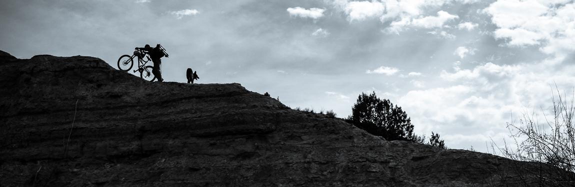 Pushing up the ridge
