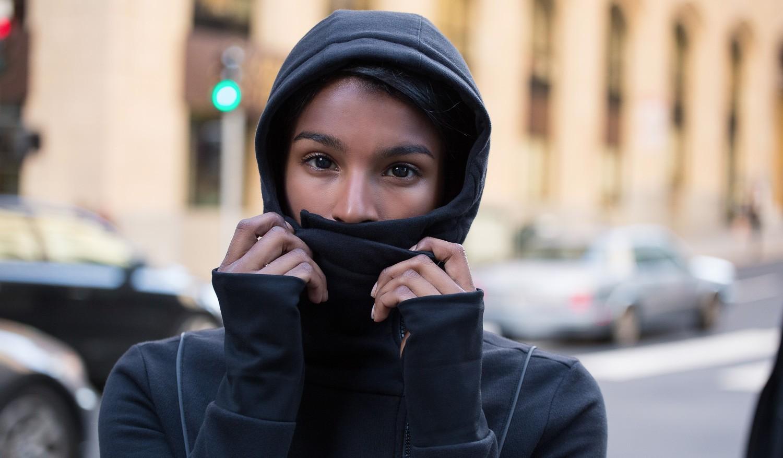 missanthrope women's hoodie from Betabrand