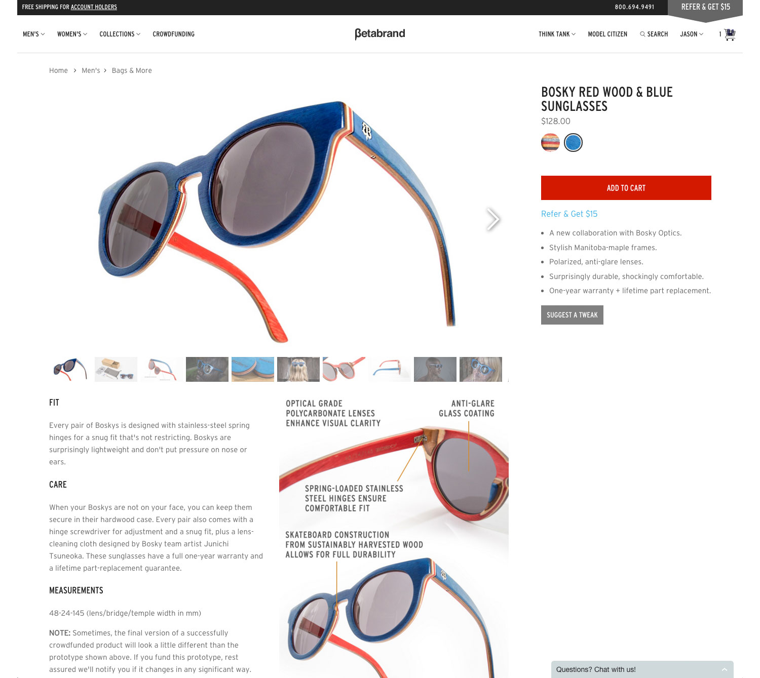 betabrand-product-page