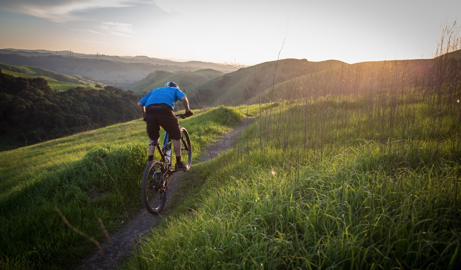 Mountain Biking at Crockett Hills Regional Park