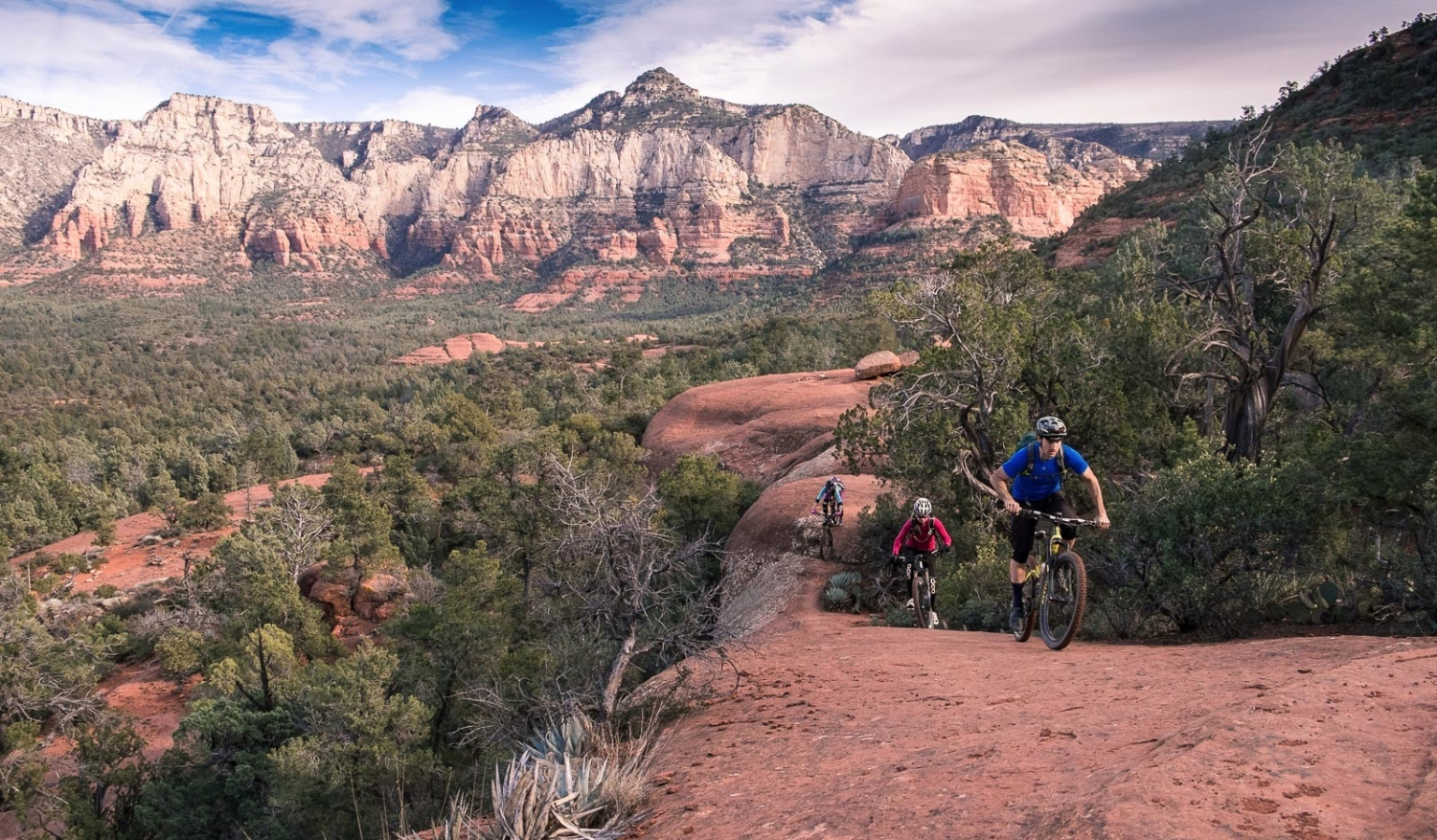 Riding the Highline Trail in Sedona, Arizona